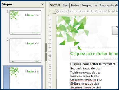 Libreoffice 5 impress et les styles tutoriels et - Comment mettre une photo en arriere plan sur open office ...